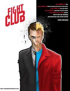 Fight Club - movie poster - Maggotx9.deviantart.com