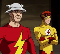 Love wally's face Justice League Marvel, Young Justice League, Marvel Dc, Birdflash, Wally West, Tim Drake, Teen Titans Go, Dc Characters, Batman Robin