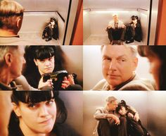 Aww I love those two. - Abby & Gibbs // NCIS