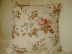 Laura Ashley Angelica Cream Hedgerow Floral Cushions