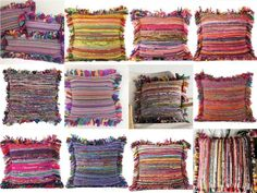 - Pillow insert is not included. - You will receive assorted Cushion Cover. Sofa Pillows, Cushions, Pillow Inserts, Pillow Covers, Kantha Quilt, Cotton Bedding, Vintage Cotton, Decorative Throw Pillows, Vibrant Colors