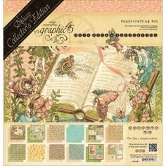 Once Upon a Springtime Deluxe Collector's Edition - Bloc 24 Feuilles 30.5x30.5cm
