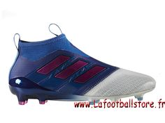 sale retailer 16dcb 15b3c Adidas Homme Football Chaussure ACE 17+ PURECONTROL terrain souple Blue  Shock Pink Footwear White BB4313 - 1704060736 - Chaussures de Foot   officielle ...
