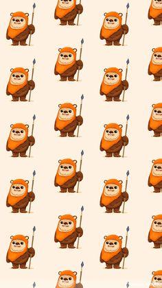 Lots of ewoks. - Star Wars Ewok - Ideas of Star Wars Ewok - Ewoks. Lots of ewoks. Finn Star Wars, Star Wars Love, Star Wars Fan Art, Star War 3, Ewok, Chewbacca, Star Wars Wallpaper Iphone, Disney Phone Wallpaper, Star Wars Backgrounds