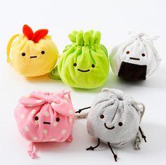 Sumikko Gurashi Plush Mini Drawstring Bags