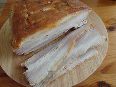 pikantní bůček Primal Recipes, Camembert Cheese, Sandwiches, Recipies, Paleo, Dairy, Bread, Cooking, Blog