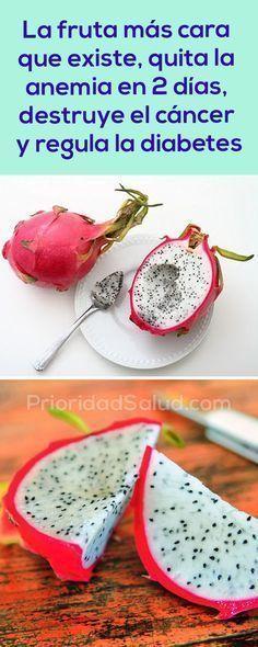 La fruta más cara del mundo quita la anemia en 2 días, destruye el cáncer y regula la diabetes.