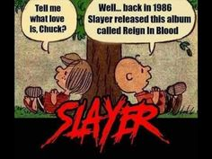 Employees must carve slayer into their forearm before returning to work \m/ fuckinslayer slayer metal metalhead thrash thrashmetal Hard Rock, 80s Metal Bands, Reign In Blood, Metal Meme, Heavy Metal Music, Music Memes, Thrash Metal, Death Metal, Concert Posters
