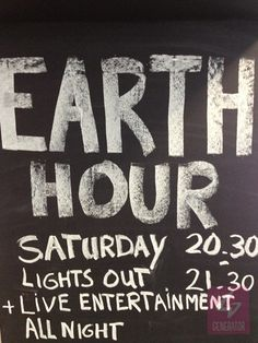 Earth Hour at Berlin East