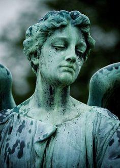 Angel in Elmwood Cemetery, Memphis