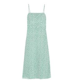 Printed bridesmaid dresses: HVN Nora Printed Silk Dress