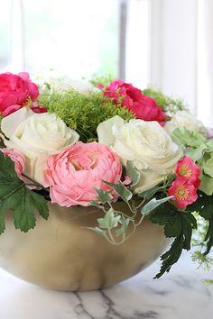 Bouquets de fleurs faux sur pinterest fausses fleurs de for Fleurs artificielles chez ikea