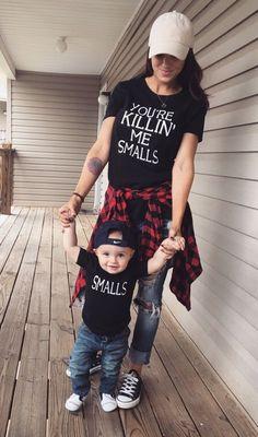You're Killin' Me Smalls & Small Parent T-Shirts