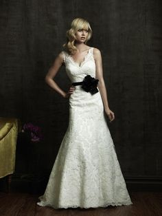 Cheap Black And White Wedding Dresses