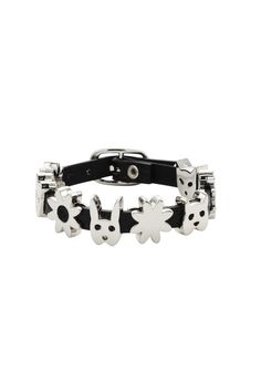 5631fa5af26f Leather Critter Cuff - Karen Walker Meadowlark Jewellery