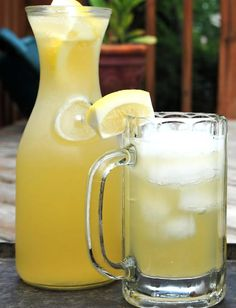 Euro-style Shandy Recipe - with wheat beer and lemon flavored sparkling water