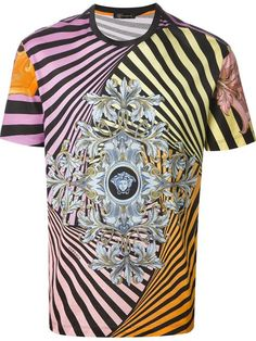 Shop Versace Medusa T-shirt in Jean Pierre Bua from the world's best independent boutiques at farfetch.com. Over 1000 designers from 60 boutiques in one website.