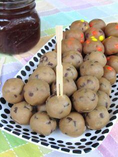 Healthier Cookie Dough Fondue Recipe