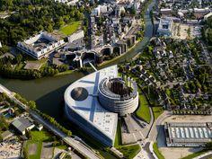 Parlement Européen, Strasbourg, Bas-Rhin, Alsace © Frantisek Zvardon