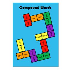 Compound Words Dominoes