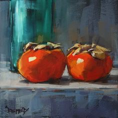Persimmons by Cathleen Rehfeld