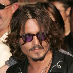 Pictures of Men's Long Haircuts, Gallery 2: Johnny Depp's Carefree Style