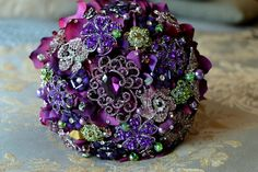 Brooch bouquet. Something I think is beautiful elegant classy unique and timeless.   Personally what I would rather do