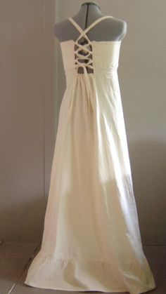 1000 images about wedding on pinterest hippie weddings for Simple cotton wedding dress