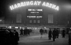 Harringay Arena, 1954