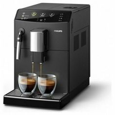 With this feature, the machine knows exactly how you like coffee or cappuccino. Do you want a stronger coffee ? The machine will increase the amount of ground coffee to give you a strong aroma of delicious coffee. Machine A Cafe Expresso, Home Espresso Machine, Coffee And Espresso Maker, Automatic Espresso Machine, Cappuccino Machine, Coffee Brewer, Drip Coffee Maker, Kitchen, Zucchini