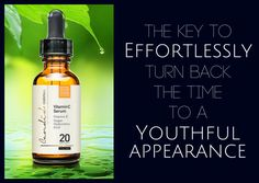 """More and more health and beauty lovers realize the effectiveness of Vitamin C on skin. This is why Vitamin C Serums are all over the market these days.   Our Vitamin C formula is comprised of the revolutionary STAY-C 50, Vitamin E, Ferulic Acid, Vegan Hyaluronic Acid and has 20% potency.  It has been proven to be like a """"facelift"""" in a bottle! Topical Vitamin C, Vitamin C Serum, Vitamin E, Facelift In A Bottle, Stay Young, Anti Aging Serum, Hyaluronic Acid, Collagen, Whiskey Bottle"""