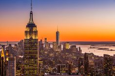 New York City Winter Sunset | por Anthony Quintano