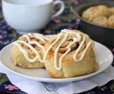 Low Carb Cinnamon Rolls - tender and moist and perfectly cinnamon-y. They aren't like yeast dough, but very similar to cinnamon rolls made with biscuit dough, flavor and texture spot on - Serves 8 at Total NET CARBS = 4.1 g each (might want to consider cutting down the salt since it already had both soda and baking powder - just a suggestion! / alldayidreamaboutfood.com