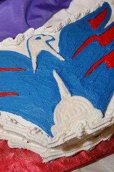 I want this as my birthday cake this year My Birthday Cake, 12th Birthday, Cap Cake, Sarah Elizabeth, Wedding Inspiration, Wedding Ideas, Washington Capitals, Love Cake, Baking Ideas