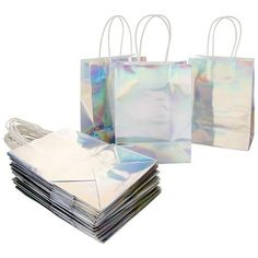 Largest selection of iridescent party tableware, party decorations, party favors & holographic party supplies. Party Favor Bags, Goodie Bags, Treat Bags, Lip Gloss, Paper Lanterns Party, Disco Theme, Thank You Bags, Gift Card Boxes, Paper Gifts