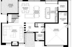 House Plan ë leguë architecture Plane, L Shaped House Plans, Architect Design, Modern House Design, Architecture, Villa, Floor Plans, Flooring, How To Plan