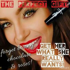 Fellas~ Get your girl what she really wants for Valentine's Day! Younique 3D Lash Mascara.  #makeup #mascara www.4EverLash.com