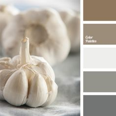 This color palette is good to use for bedroom decor, as it is dominated by quiet shades of brown and neutral shades of gray..