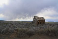 Christmas Valley Homestead. An early 20th century homestead out in the middle of nowhere somewhere around Christmas Valley Oregon.