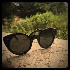 I just discovered this while shopping on Poshmark: Cat eye sunglasses. Check it out!  Size: OS