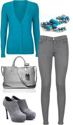 """türkiz ősz"" by kissfranciska on Polyvore"
