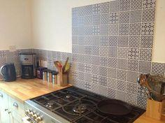 Batik Patchwork Blue Tile | Topps Tiles