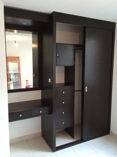 52 Popular Wardrobe Design Ideas In Your Bedroom. The most essential and important aspect of your bedroom includes your bed and bedroom wardrobe. Wardrobes give you extra storage capacity in your room. Wardrobe Door Designs, Wardrobe Design Bedroom, Bedroom Bed Design, Bedroom Furniture Design, Home Room Design, Closet Designs, Closet Bedroom, Home Decor Furniture, Home Decor Bedroom