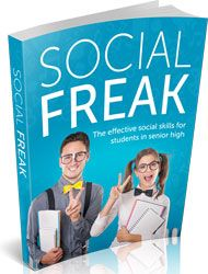 Social Freak http://www.plrsifu.com/social-freak/ eBooks, Give Away, Master Resell Rights, Niche eBooks #Friendships, #Social A student like you can learn how to establish friendships and relate socially with children and adults while you are at the school. Unfortunately, social expectations and friendships usually trigger stress to teenagers especially to a student ...