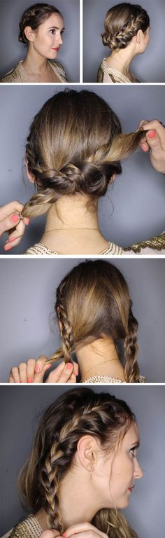 Braid tutorial perfect for holidays and festival season