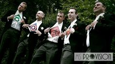 Superhero Wedding Theme :)