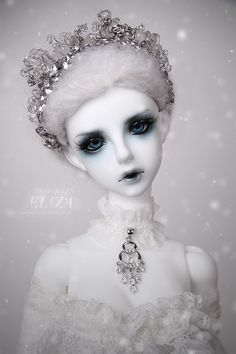 Snow Queen ELIZA|DOLKSTATION - Ball Jointed Dolls Shop - Shop of BJD Dolls