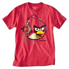 Angry Birds Men's Graphic Tee - Red XXL #lum #apparel