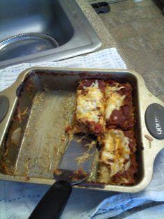 Adventures in Healthy Living: South Beach Recipe--Spaghetti Squash Lasagna!!