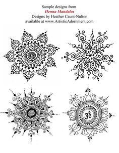 Henna Mandalas ebook Mehndi pattern book with от HennaByHeather